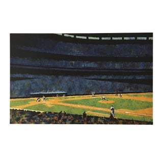 "Howard Koslow ""Sunday at Shea"" Painting For Sale"