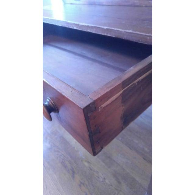 Antique Drop-Down Secretary Desk - Image 5 of 10 - Antique Drop-Down Secretary Desk Chairish