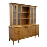 Image of Thomasville Tamerlane Mid-Century China Cabinet / Buffet / Hutch For Sale