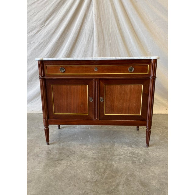 Marble Top Italian Buffet - 19th C For Sale - Image 10 of 10