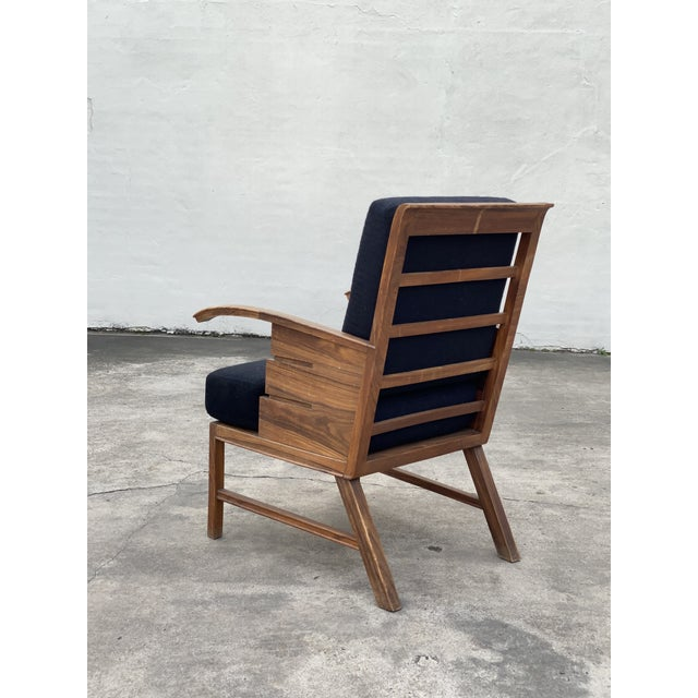 Mid-Century Modern Danish Cabinetmaker Rosewood Armchair For Sale - Image 3 of 13