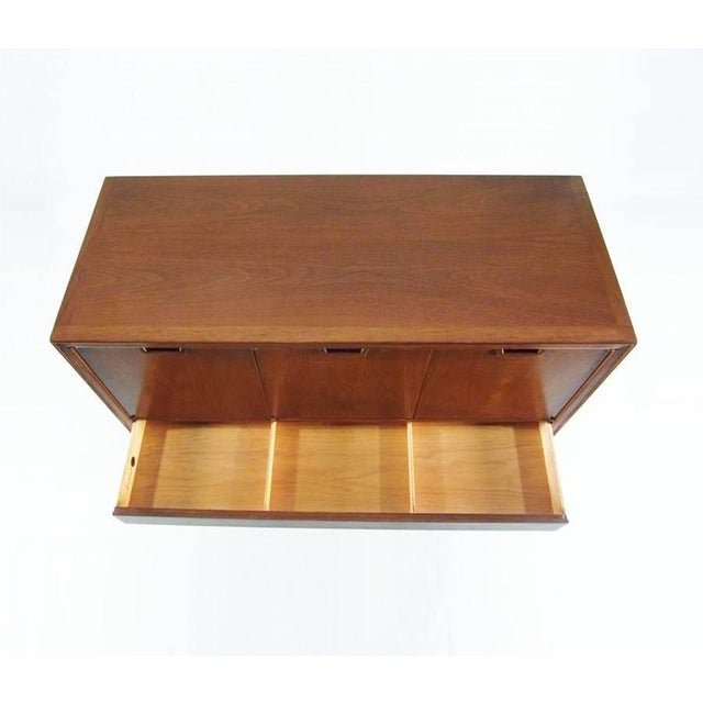 Wood Mid-Century Modern Highboy by John Stuart For Sale - Image 7 of 10