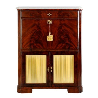 19th Century American Mahogany Secrétaire à Abattant For Sale