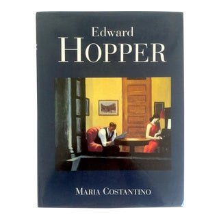 "Vintage 1995 ""Edward Hopper"" Hardcover Fine Art Book For Sale"