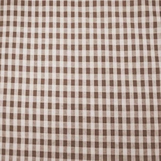 French Country Elizabeth Eakins Gingham Linen Designer Fabric by the Yard For Sale