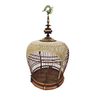 Inlaid Bird Cage from Thailand