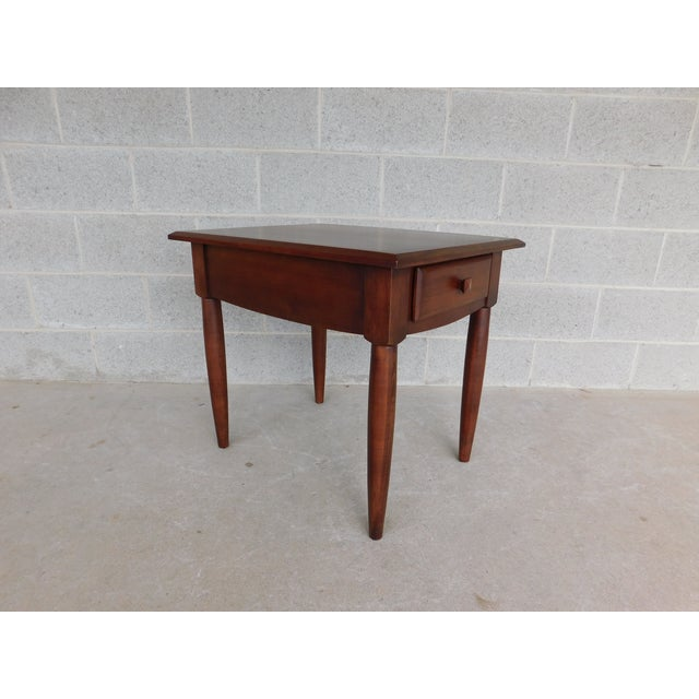 Ethan Allen American Dimension Collection 1 Drawer End Table For Sale In Philadelphia - Image 6 of 9