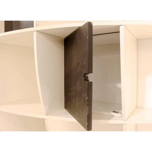 "Italian ""Tyko"" Lacquered Wood Bookshelf by Manfredo Massironi for Nikol International For Sale - Image 3 of 11"