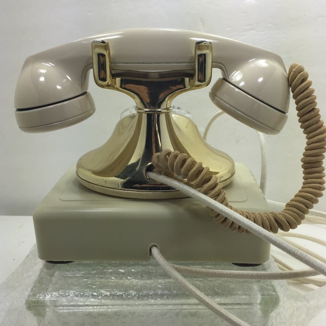Gold Plated and Ivory Western Electric Phone - Image 5 of 11