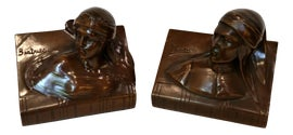 Image of Bronze Bookends