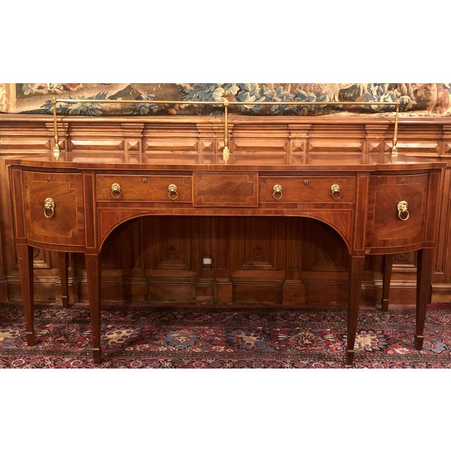 Antique Early 19th Century English Georgian Mahogany Sideboard. For Sale - Image 4 of 4
