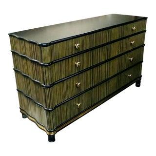 Hollywood Regency Henredon Furniture Dresser For Sale