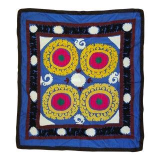 Vintage Suzani Hand Emroidered Textile
