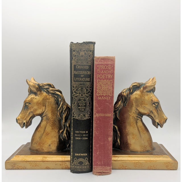 Stunning pair of beautifully detailed bookends. Elegant Neoclassical style, perfect for any bookshelf. These are made of...