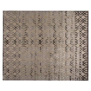 Stark Studio Rugs Contemporary Ridgemore Oak Silk Rug - 9′11″ × 13′9″ For Sale