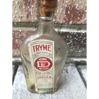 Prohibition Era Medicine Alcohol Bottle Preview