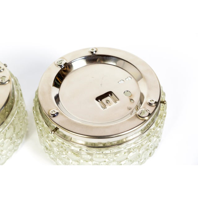 Buffed Revisited Helena Tynell Design Flush Mounts (Pair) For Sale In San Francisco - Image 6 of 11