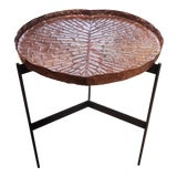 Image of Copper High Tray Table For Sale