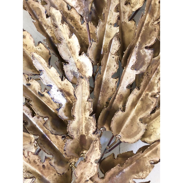 Brutalist Plant Wall Sculpture For Sale - Image 4 of 8