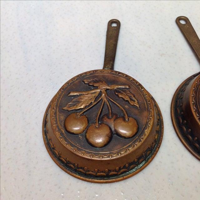 Swedish Copper Dessert Molds - Pair - Image 3 of 6