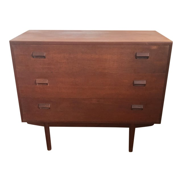 Desk - Mid-Century Modern Secretary Desk - Image 1 of 10