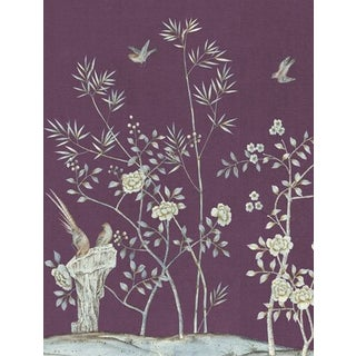Casa Cosima Amethyst Brighton Wallpaper Mural - Sample For Sale