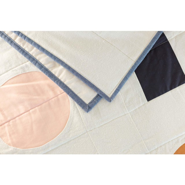 Boho Chic Trans Pecos Throw Quilt For Sale - Image 3 of 5