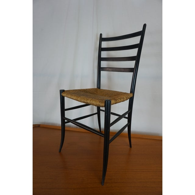 Italian Style Ladderback Chairs - A Pair - Image 4 of 7
