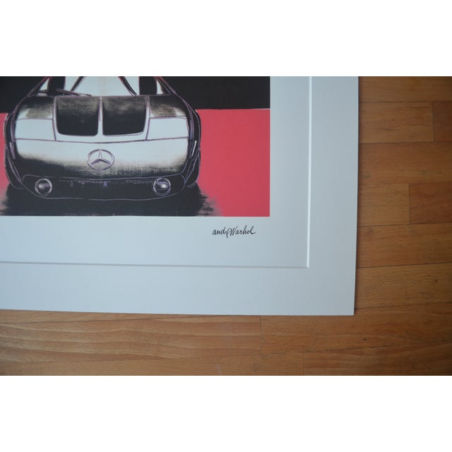 Andy Warhol Mercedes Benz Print - Image 5 of 5