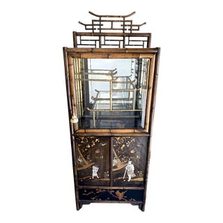 Aesthetic Movement Japonisme Bar Cabinet For Sale