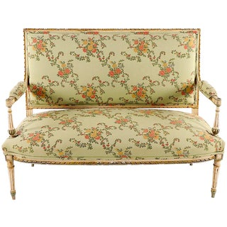 Early 20th Century Vintage Louis XVI Settee For Sale