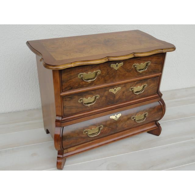 20th Century Traditional Baker Furniture Mahogany Nightstand For Sale - Image 13 of 13