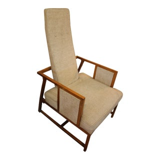 Pair of 1950's Frank Lloyd Wright Heritage-Henredon Taliesin Group Tall Back Chair