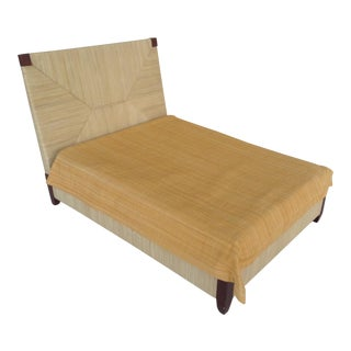 Donghia Merbau Bed Salesman Model/Sample