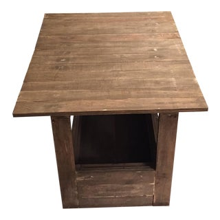 Contemporary Rustic Coffee Table For Sale