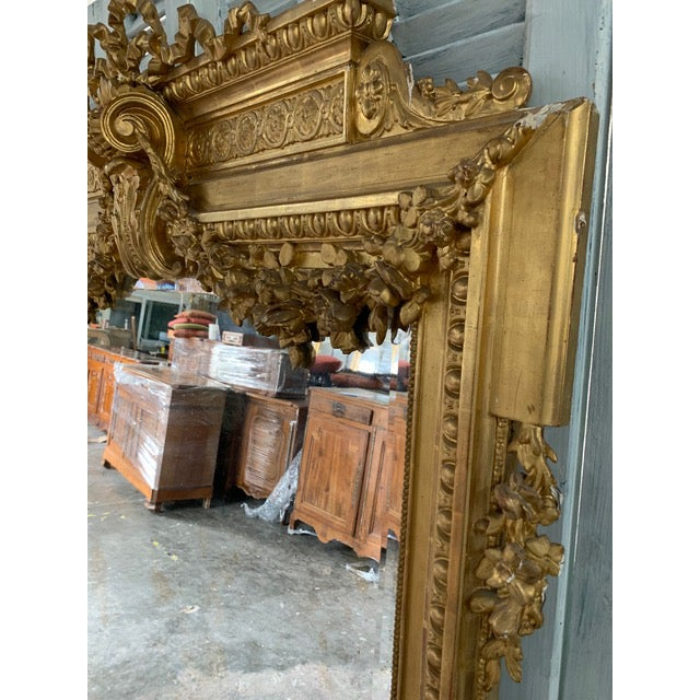 18th Century French Louis XVI Period Mirror For Sale In Atlanta - Image 6 of 10