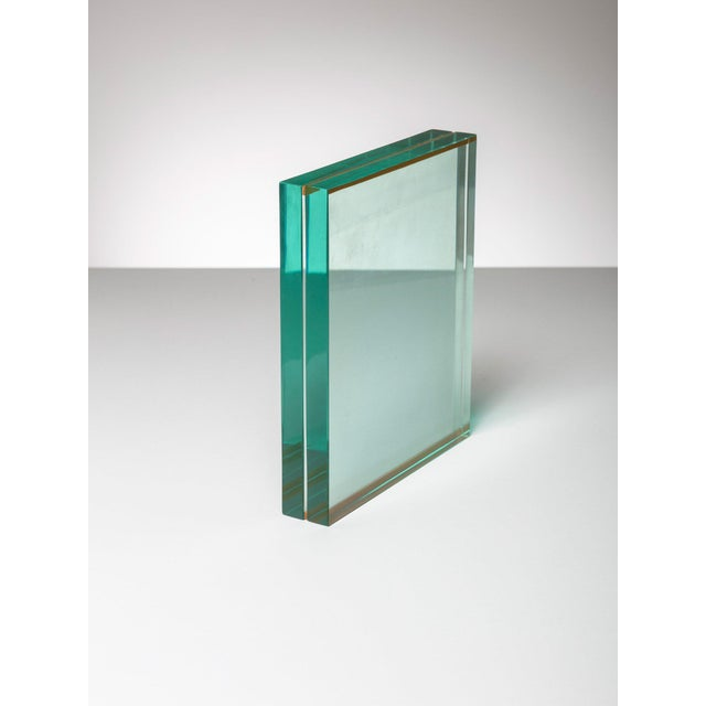 1970s Fontana Arte Glass Table Frame For Sale - Image 5 of 5