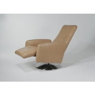 Modern Kintec-Solution Piro Reclining Leather Lounge Chair Preview