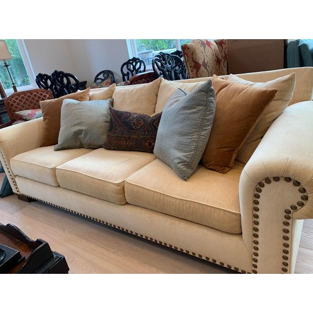 American 21st Century Custom Made Sofa For Sale - Image 3 of 4