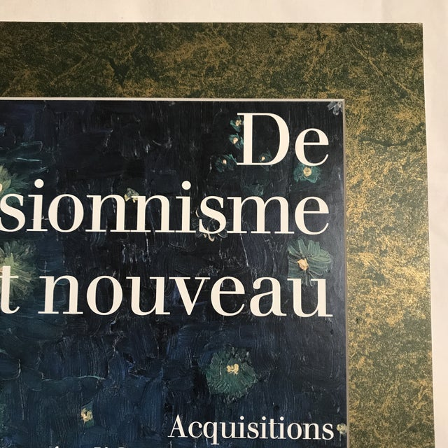 Art Nouveau Musee D'Orsay 1990-1996 Acquisitions/Exhibition Poster Mounted on Board For Sale - Image 3 of 4