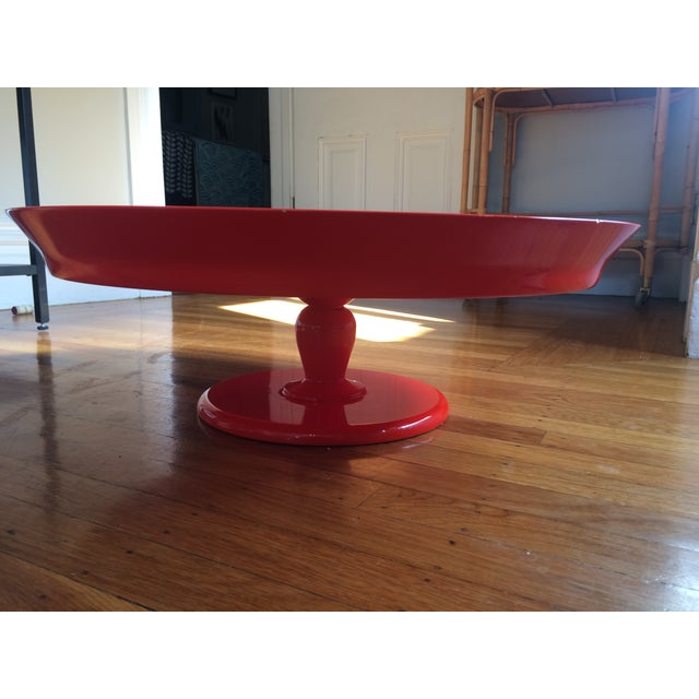 Serena & Lily Flame Pedestal Tray - Image 7 of 10