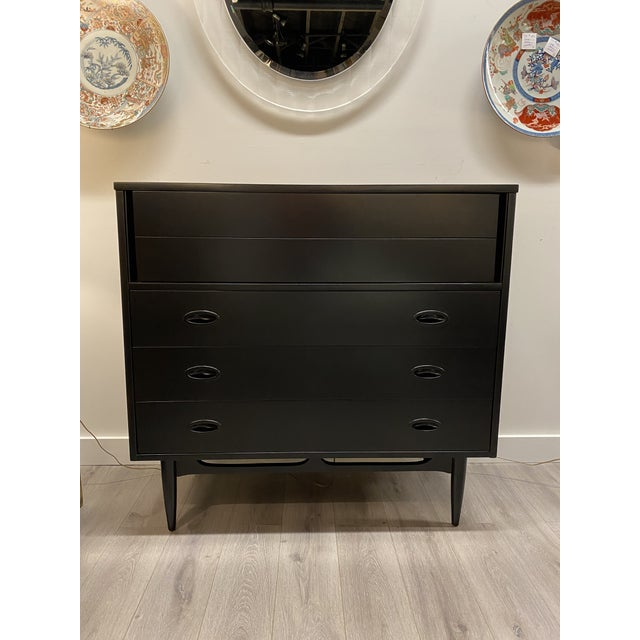 Paint Mid Century Dresser For Sale - Image 7 of 7