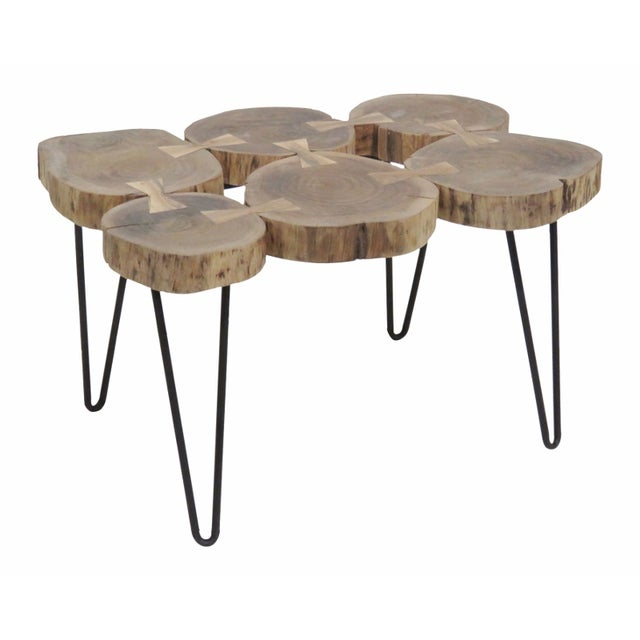 Cut Trunk Slab Coffee Table - Image 1 of 4