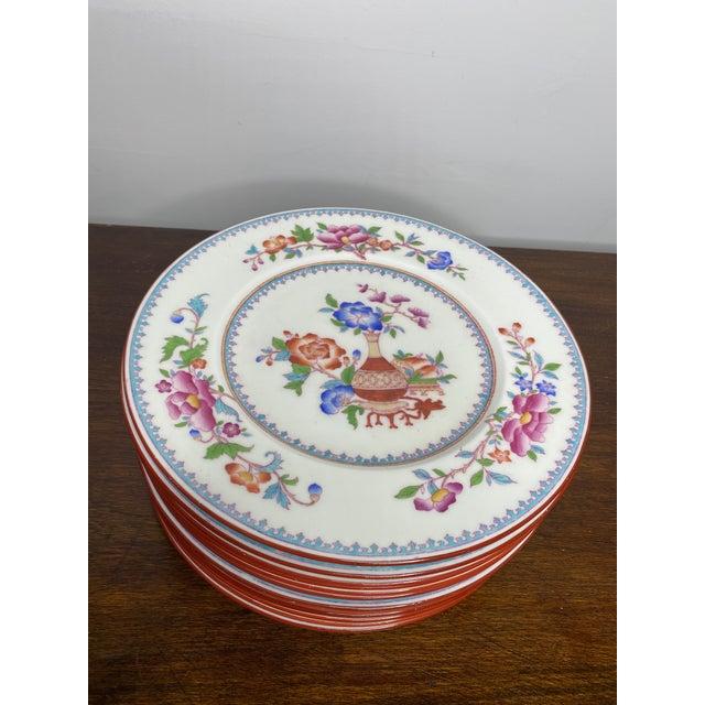 Antique Cauldon Staffordshire Plates - Set of 12 For Sale In Washington DC - Image 6 of 6
