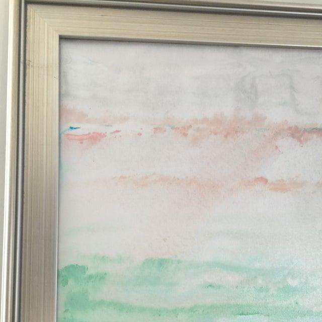 """Morning Sea"" Original Painting Acrylic on Canvas - Image 4 of 6"
