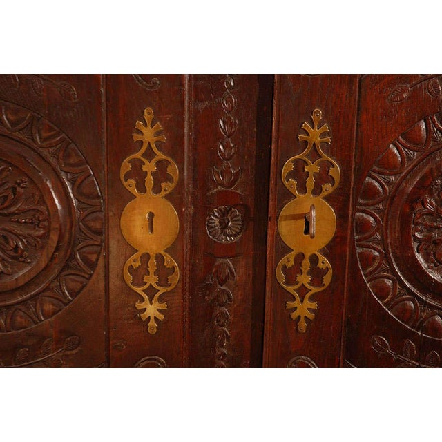 Antique Louis XV Armoire For Sale - Image 9 of 10