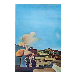 """1957 Salvador Dali """"The Invisible Harp"""" Original Period Photogravure For Sale"""