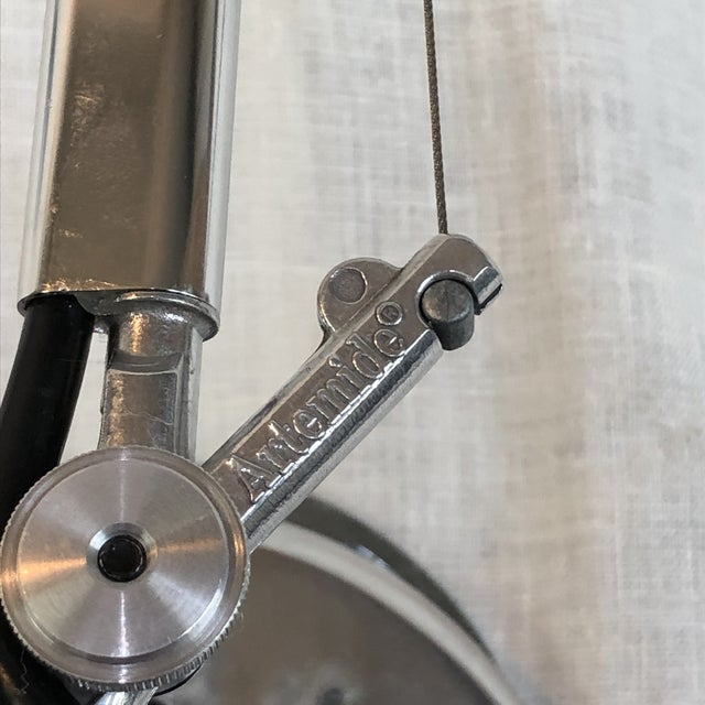 Metal Artemide Tolomeo Micro Wall Lamp For Sale - Image 7 of 8