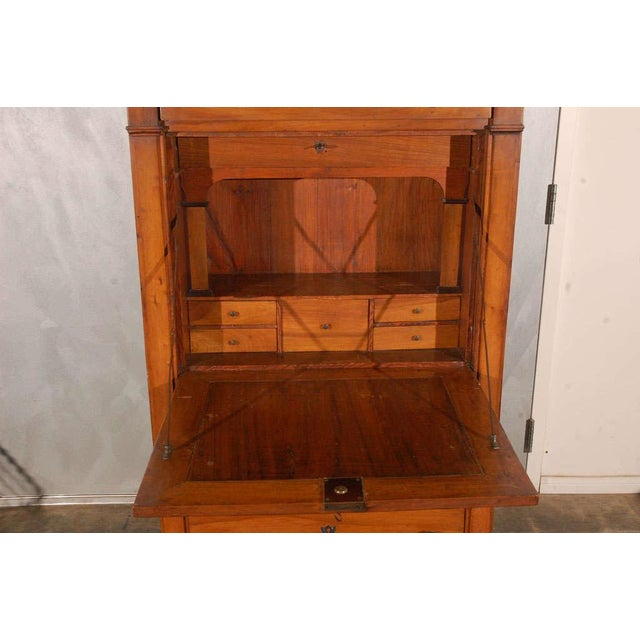 Wood Secretaire a Abattant For Sale - Image 7 of 9