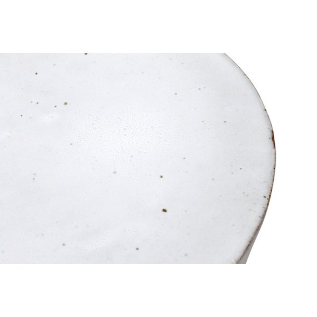 Large Tariki Ceramic Stool For Sale - Image 9 of 12